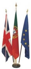 zastave na stojalih